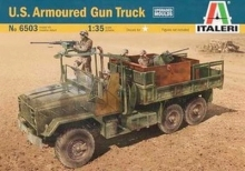 ITALERI 6503 1/35 Scale  M923 U.S.Armoured Gun Truck Plastic Model Building Kit
