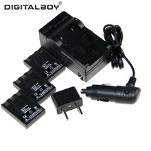 DigitalBoy 6PCS/Set NB-3L NB3L NB 3L Li-ion Camera Battery+Charger+Car Charger+Plug For For Canon PowerShot SD500 SD110 SD10