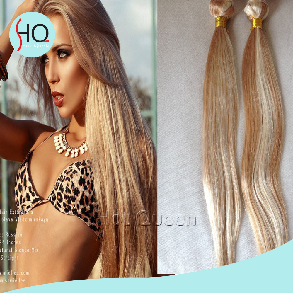 DHL Free Shipping Hair Weaves P27/#613 Blonde Remy Human Hair 7A 3 Bundles Peruvian Virgin Silky Straight Human Hair<br><br>Aliexpress