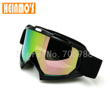 Black Motorcycle goggles Motocross goggle Dirt Bike Cross Country gafas Flexible Goggles Adult  Bike