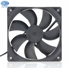 Black USB Cooling Fan Silent Computer Case PC CPU DC 5V 120 x120 x25mm Brushless(China)