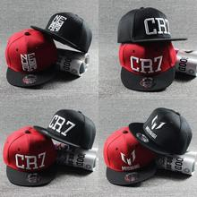 2017 summer New Fashion Children Ronaldo CR7 Kids Baseball Caps for Boys Girls MESSI Snapback Hats Hip Hop Caps Gorras