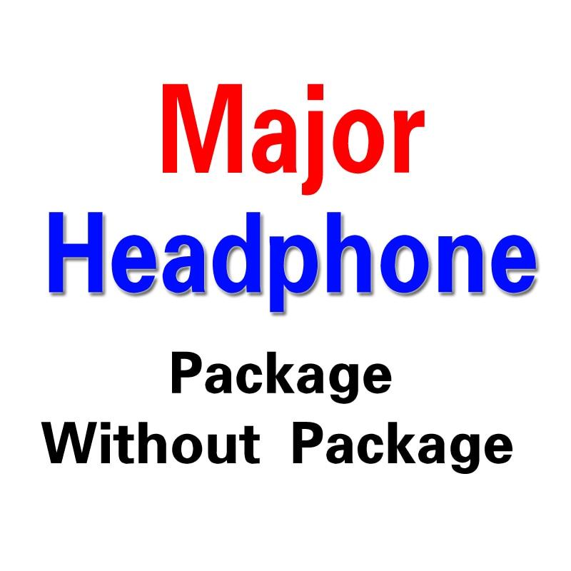 Major DJ Studio Headphone With Microphone &amp; Remote On-Ear Pro Stereo Earphone Headphones Headset Computer Headphones<br><br>Aliexpress