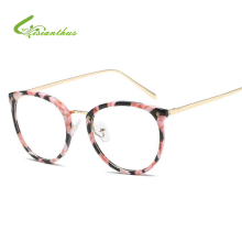 NEW Glasses Frames Woman/Man Eyeglasses Frame for Myopia 2017 Vew Plica Eye Glasses Plain Mirror Glass Vintage Black Spectacles(China)