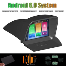 Android 6.0 Octa núcleo REPRODUCTOR de DVD DEL COCHE para FORD Tourneo AUTO Radio RDS WIFI 2G RAM 32G Inand Flash(China)