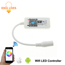 Wifi LED RGB Controler DC12V MIni Wifi RGB LED Controller for RGB LED Strip.
