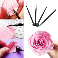 4PCS/Set Cake Carved Pens Flower Modelling Cake Decorating Tools Biscuits Cake Molds Bakeware Kitchen Accessories