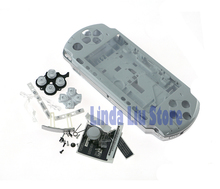 Housing Shell Cover Case Complete Replacement Shell Case with buttons kit For Sony PSP2000 PSP 2000 Game Console