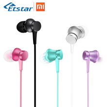 Original Xiaomi Piston 3 Basic Earphones Colorful Youth Version In-ear Earphone 3.5mm Withmic 1.4m Music Stereo of Smartphone(Hong Kong)