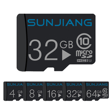 2017 new Micro SD Card 32GB/64gb Class 6 SDHC sdcard 8GB/16GB 4GB mini sd Class 6 Memory Card Flash Memory Microsd free shippin
