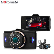 Gotomato Dual Camera Full HD 1080P Car DVR G9WB Original Allwinner V3 Chip Car Video Recorder Camera 2 Lens ADAS Dash Cam