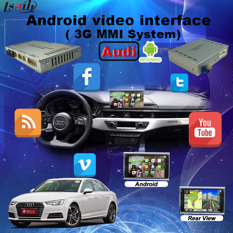 Smartphone Android Navigation System with Voice Rearch for Audi 2017(China (Mainland))