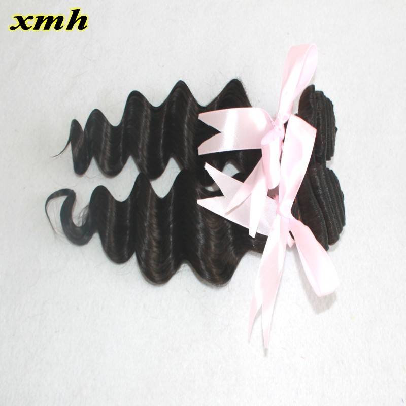 8A Brazilian Virgin Hair Loose Wave Human Hair Extensions Raw Brazilian Hair Weave 2 Bundles Unprocessed Brazilian Virgin Hair<br><br>Aliexpress
