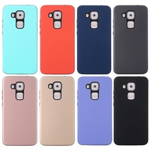 Case For Huawei G9 Plus/G8/G7 Plus Cover 2 in 1 Candy Armor TPU+PC Soft ultra thin phone Casing funda coque For Huawei Nova Plus