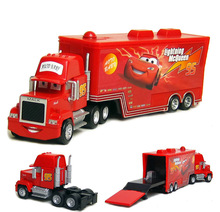 Disney Pixar Cars NO.95 Mark Uncle Truck Lightning McQueen 1:55 Scale Diecast Metal Alloy Cute Toys Car For Children Gifts(China)