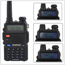 baofeng dualband UV-5R 8Watt walkie talkie radio High Power 136-174/400-520MHz two way radio with free earpiece BF-UV5R