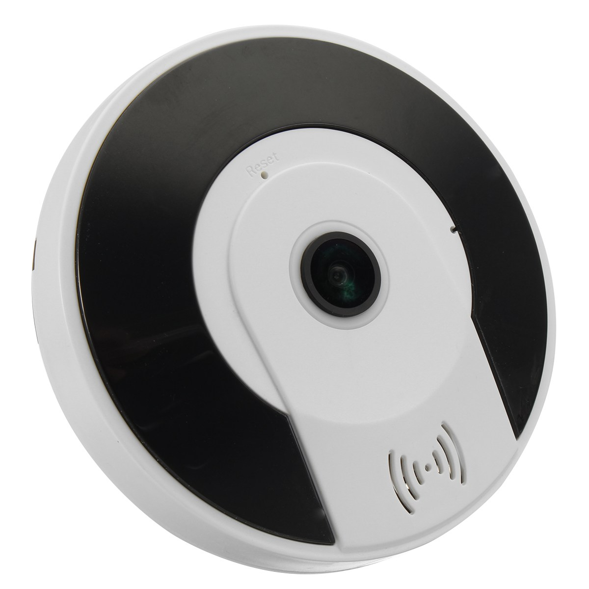 NEW Mini 360 degree 960P  Wireless HD Fisheye IP Camera Two Way Night Vision Wifi Panoramic Home Security Safety<br>