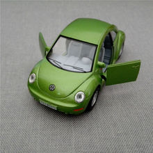 Brand New 2014 Volkswagen Vw New Beetle Bug 1/32 Scale Diecast Metal Pull Back Car Model Toy For Gift/Kids