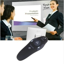 Dehyato 2.4Ghz Wireless Presenter with Red Laser Pointers Pen USB RF Remote Control Page for Turning PPT Powerpoint Presentation(China)