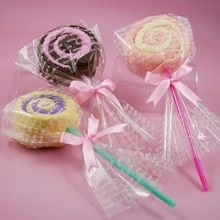 New 1pc activity ideas and practical gifts wedding wedding birthday gift little lollipop towel towel toallas handkerchief women
