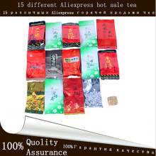 Chinese Famous Oolong Black Puer Green Tea Daohongpao Tieguanyin Milk Oolong Puerh 15 Different Flavors AliExpress Hot sale Tea