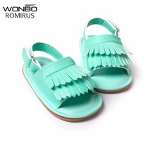 baby moccasins stylish pu leather tassel tassel girls baby shoes Scarpe Neonata hook and loop outdoor shoes hard rubber bottom
