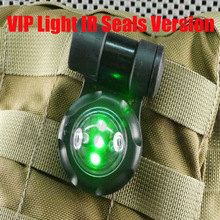 Eelment EX079 VIP IR LED Safety Signal Light Outdoor Sports Military Strobe Light Navy Seal Light(two color)