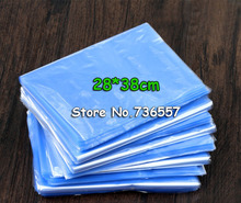 28*38cm Soft Transparent Blow Molding PVC Heat Shrinkable Bags Shrink Film Wrap Cosmetic Packaging Wrap Materials Plastic Bag