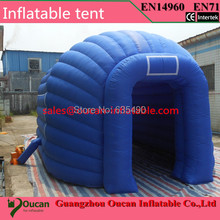 blue oxford cloth inflatable party tent for event, inflatable advertising ten for sale with free shipping(China)