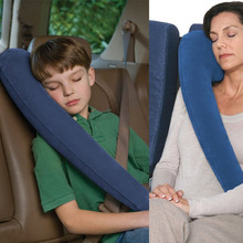 Inflatable Neck Pillow for Side Sleeping Auto Pillow Car Airplane Neck Pillow Travel Accessories Comfortable Pillows for Sleep