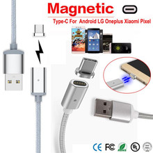 Reliable High Speed Charge Magnetic USB Charger Cord Sync Data Cable Type-C Micro USB For Android