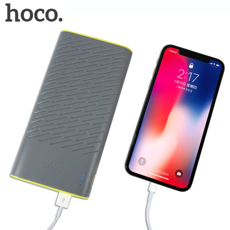 HOCO 30000mAh Elegant Power Bank Case Dual USB 2.1A Charger External Backup Batttery Smart Phones Pad USB Devices 20000mAh