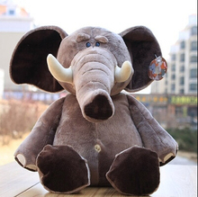 "1pcs 10"" 25cm Genuine Nici Plush Toy Plush Elephant Popular Toy For Kids Stuffed Animal Soft Doll Anime brinquedos Free Shipping"