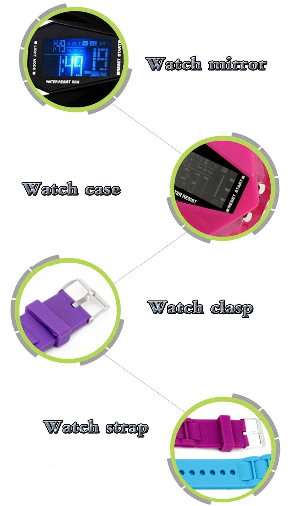 Stiilsed elektroonilised kellad