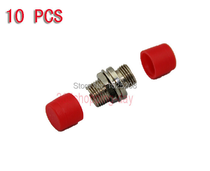 10 pcs FC-FC Fiber Adapter Connector Coupler Fiber connector Fiber adapter Free Shipping