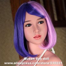 WMDOLL Top quality love doll heads for realistic female sex doll and real silicone adult doll, oral sexy toy(China)