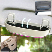 FIT FOR CITROEN C4 C5 PICASSO XSARA SAXO DS SUNGLASSES HOLDER SUN GLASSES CASE BOX CLIP CAGE STORAGE BOX ACCESSORIES(China)