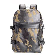 Men Camo Backpacks Nylon Large Capacity School Bags for Teenagers Male Casual Laptop Backpacks Man Travel Rucksack Bagpack(China)