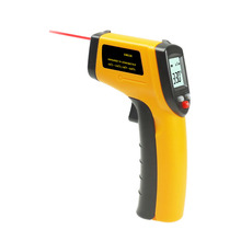 Free Shipping Non Contact Digital Infrared Thermometer -50 to 380 Degree Temperature Monitor Gun IR Thermometer GM320(China)