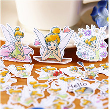 40pcs Creative Cute Self-made Wonderful fairy/girl Scrapbooking Stickers /Decorative Sticker /DIY Craft Photo Albums/trunk
