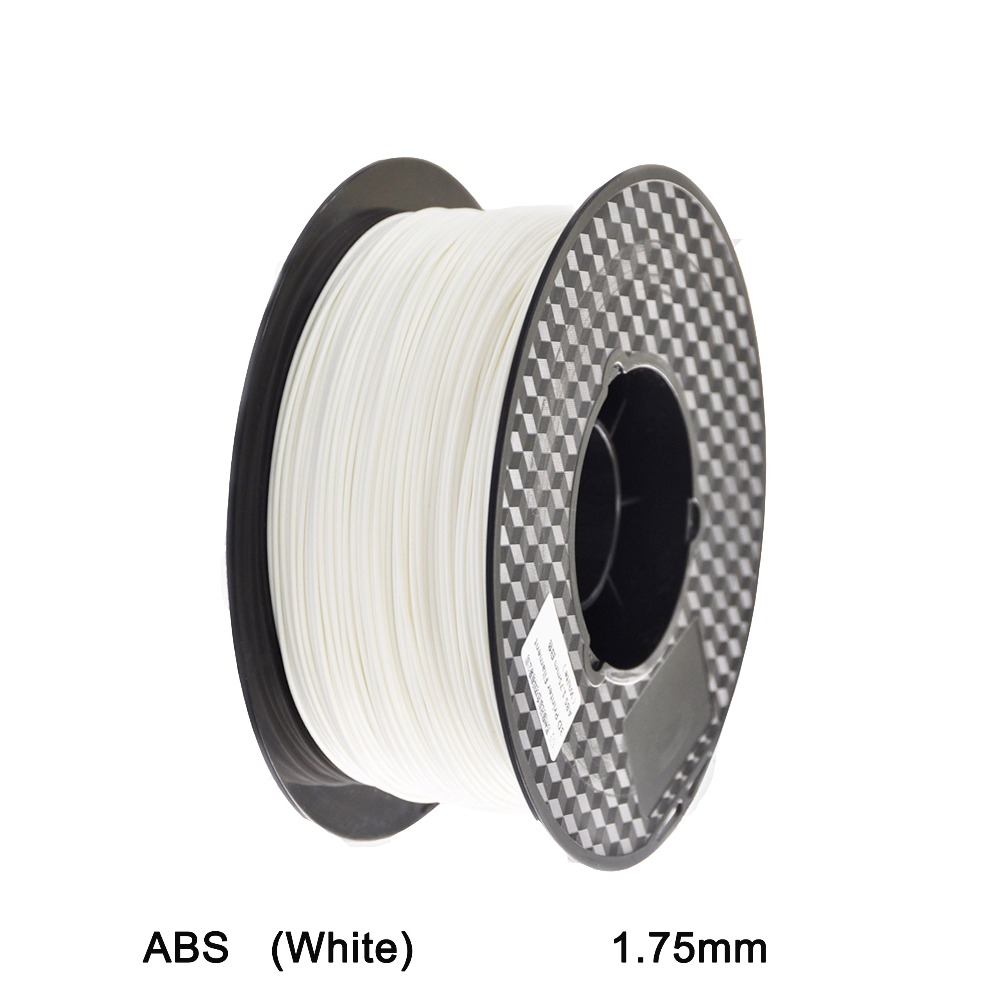 ABS Plastic 3D Printer 1kg 1.75MM Supplies Filament for RepRap White<br><br>Aliexpress