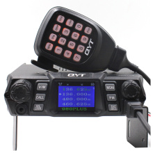 QYT KT-980Plus Dual Band Quad display 75W Car Trunk FM Mobile Transceiver Two Way Radio Update version of KT-UV980