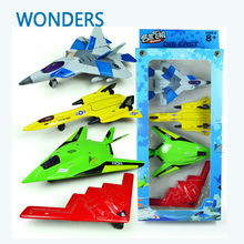 4pcs/set Alloy plastic simulation plane/bomber/fighter/ reconnaissance plane toys Sets collecttion model  for children