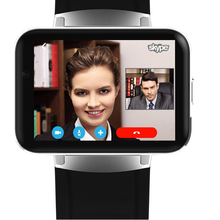 2017 New Android Smart watch Phone 3G Android 4.4 with Nano Sim Card Wifi GPS Camera Facebook Twitter Skype Bluetooth Smartwatch