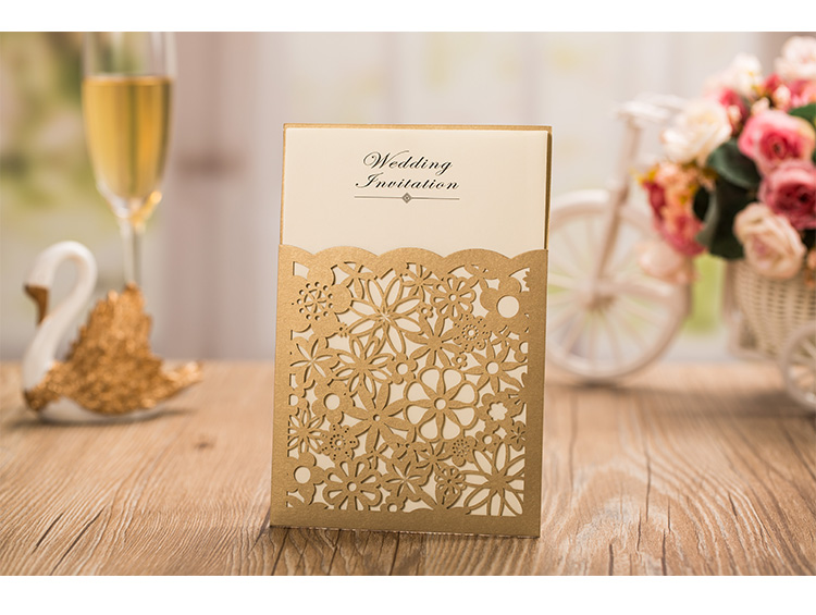 Online Whole Wedding Invitation Card Stock From China