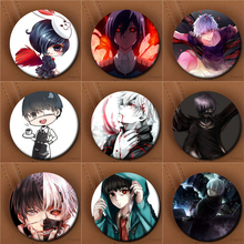 Youpop Japan Anime Tokyo Ghoul Album Brooch Pin Badge Accessories For Clothes Hat Backpack Decoration Men Women Boy Girl XZ0187