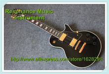 Top Selling Chinese Black Beauty Guitar Custom LP Gold Hardware China Guitars In Stock(China)