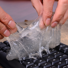 1pcs Keyboard Cleaner Cyber Computer Cleaning Super Clean Universal Magic Dust Clean Gum Rubber Keyboard/Shoes Free Shipping