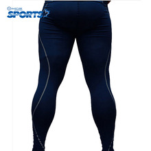 Outdoor Sports Trousers Quick-drying Perspiration Compression Tight Long Pants Slim Fitness Trainings Equipment(China)