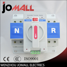 2P 63A 230V MCB type white color Dual Power Automatic transfer switch ATS Rated voltage 220V /380V Rated frequency 50/60Hz(China)